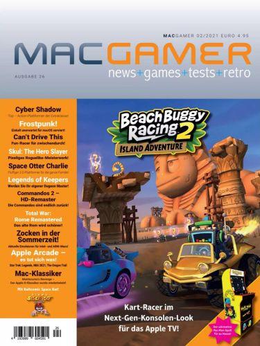 Cover: MacGamer Magazin No 02 2021