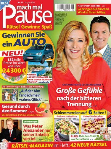 Cover: Mach mal Pause Frauenmagazin No 26 vom 23  Juni 2021