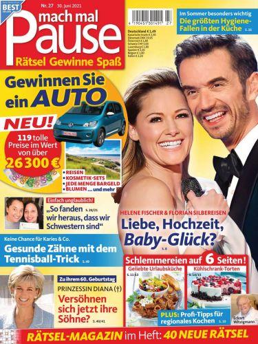 Cover: Mach mal Pause Magazin No 27 vom 30  Juni 2021