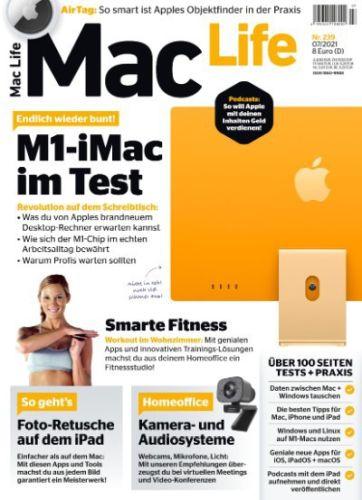 Cover: Mac Life Magazin No 07 Juli 2021