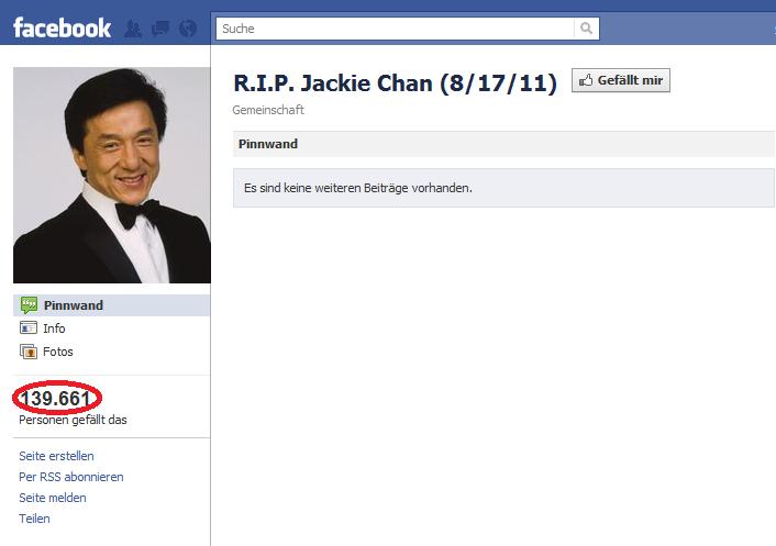 jackie chan death hoax - 706×497