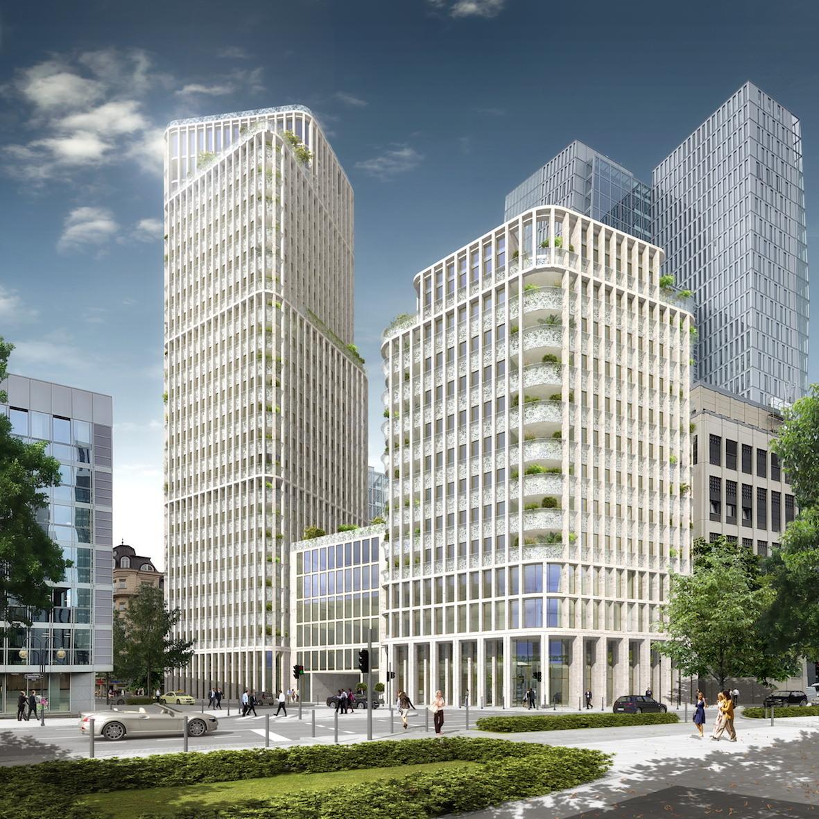 Hochhauswelten frankfurt wohnt rme drei schwestern - Architekturburo frankfurt ...