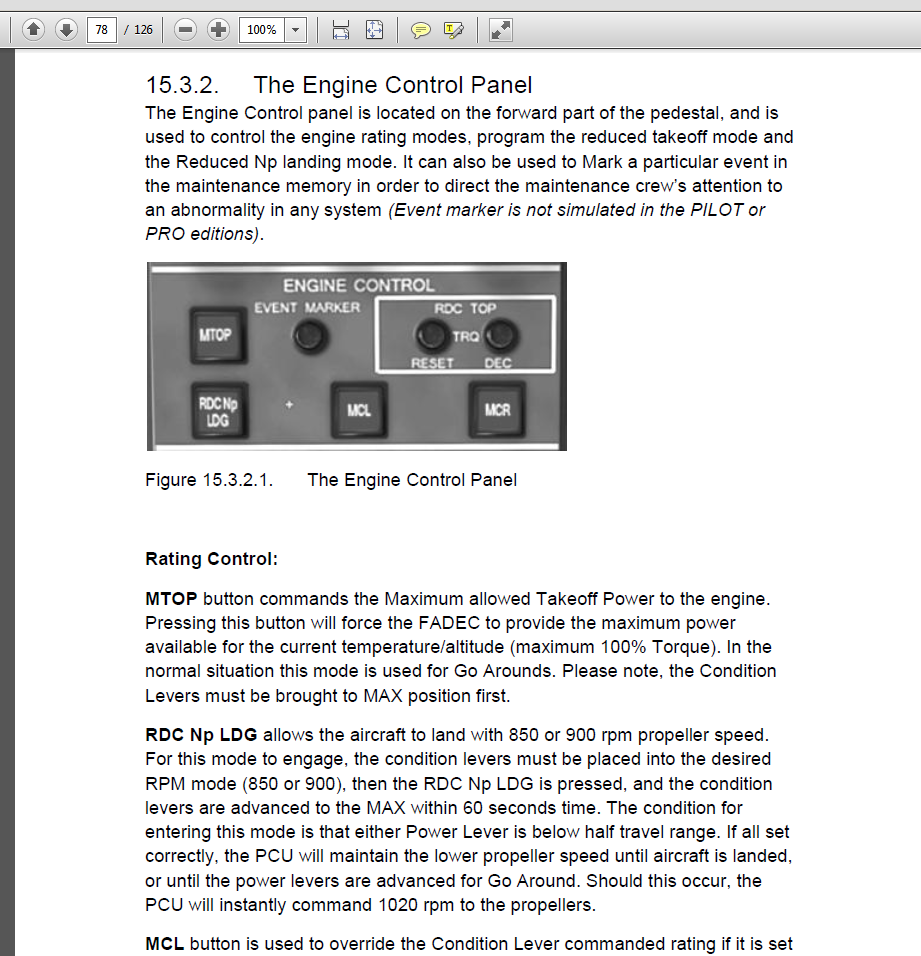 Dash 8 Q 400 Manual