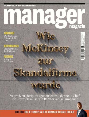 Cover: Manager Magazin Wirtschaft aus erster Hand Nr 06 2021