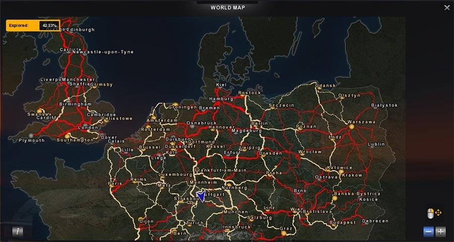 Kolorowa Mapa Do Podstawowej Gry