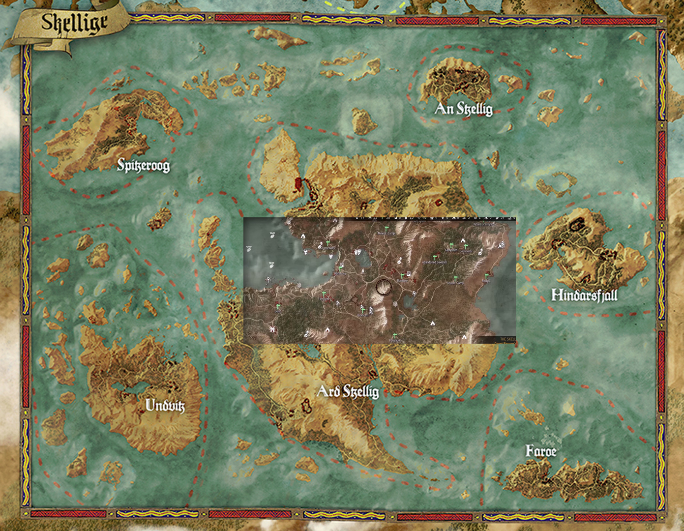 Scale of map size in the witcher 3 wild hunt page 3 neogaf alienous gumiabroncs Gallery
