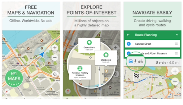 download MAPS.ME – Map with Navigation and Directions v8.5.2