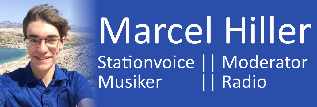 Marcel Hiller / Stationvoice, Moderator, Musiker