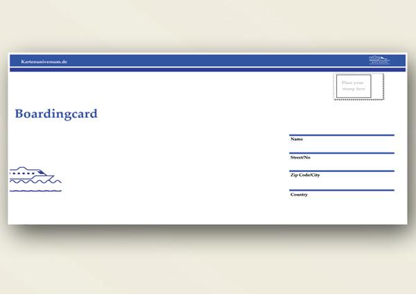 Einladungskarten Flugticket Geburtstag Einladung Kreuzfahrt-Schiff Ticket | eBay
