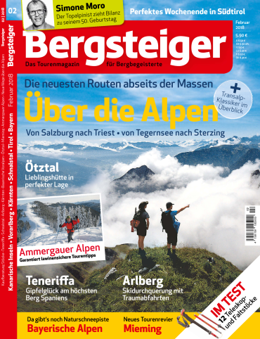 : Bergsteiger Das Tourenmagazin Februar No 02 2018