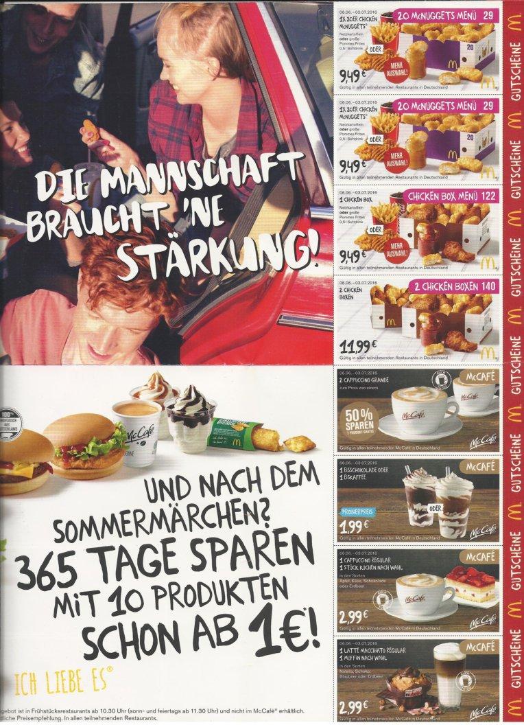Mcdonalds coupons 2019 schweiz