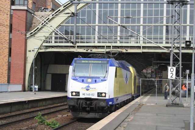 ME 146-02 Lüneburg Ausfahrt nach Rummelsburg Berlin Ostbahnhof