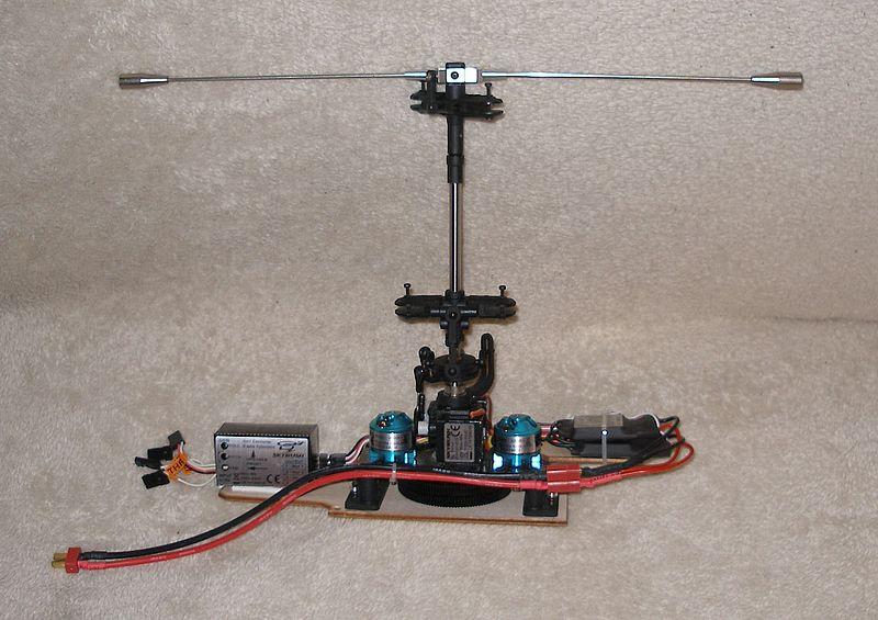 Sikorski X2 von Skyrush Mechaniklinksseite8kkin