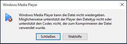 Videos Werden Nicht Abgespielt Windows 7
