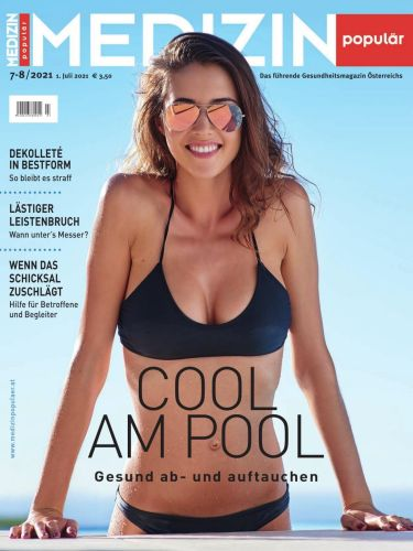 Cover: Medizin Populär Magazin No 07-08 2021