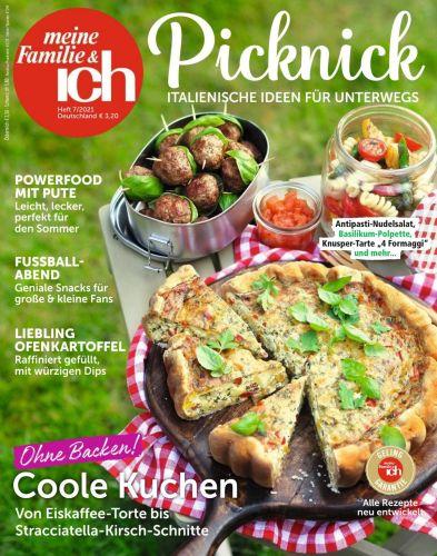 Cover: Meine Familie und ich Kochmagazin Juli No 07 2021