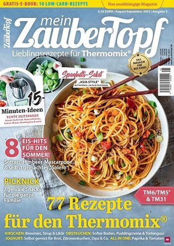 Cover: Mein Zaubertopf Magazin für Thermomix No 05 2021