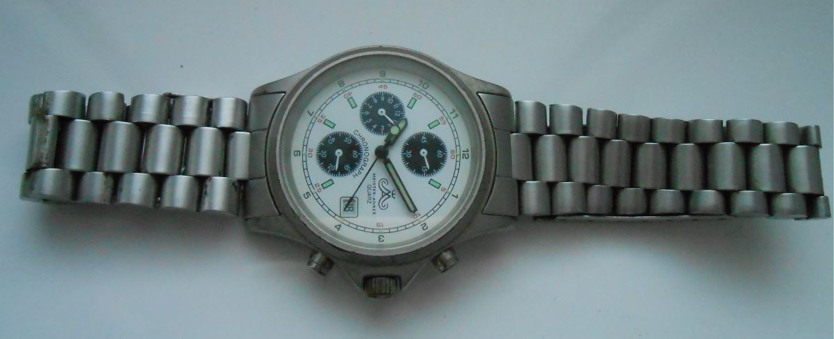 Chronograph Quartz Mens Watch Date Brand Design Style ...