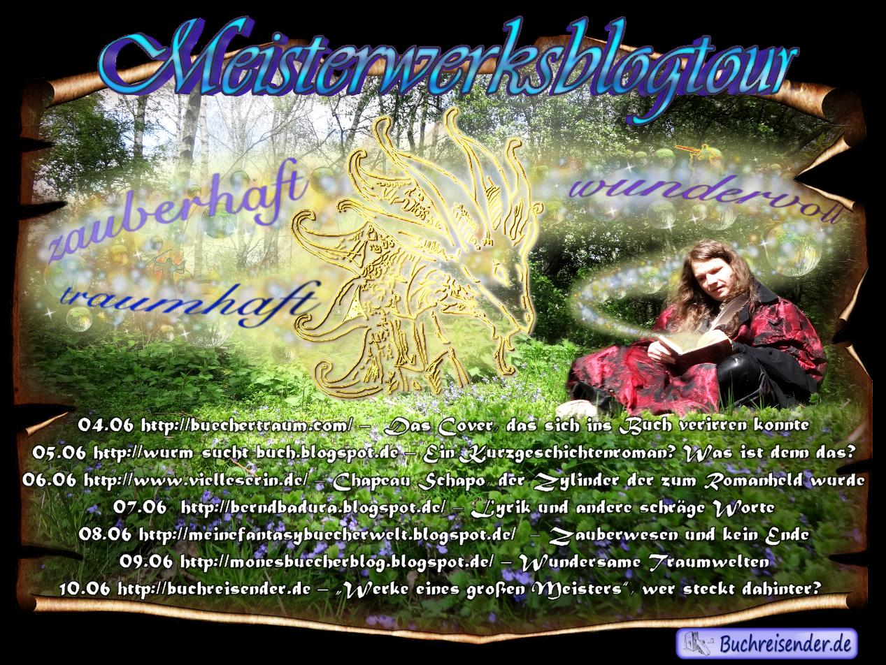 """Blogtour zu """"Meisterwerke"""": Chapeau Schapo, der Zylinder der zum Romanheld wurde"""