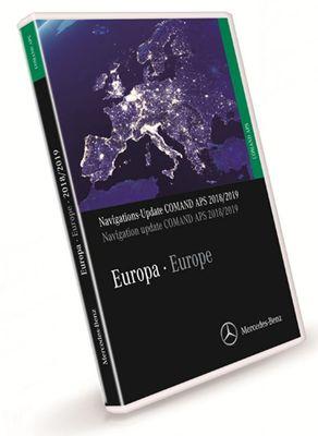 download Mercedes Benz Navigations DVD COMMAND APS 2018-2019 Europe NTG1 V19