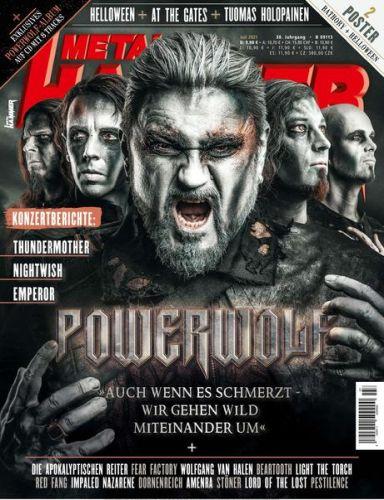 Cover: Metal Hammer Germany Magazin No 07 Juli 2021