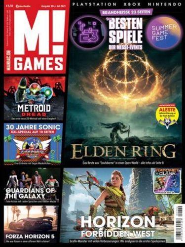 Cover: M! Games Magazin Playstation Xbox Nintendo No 07 Juli 2021