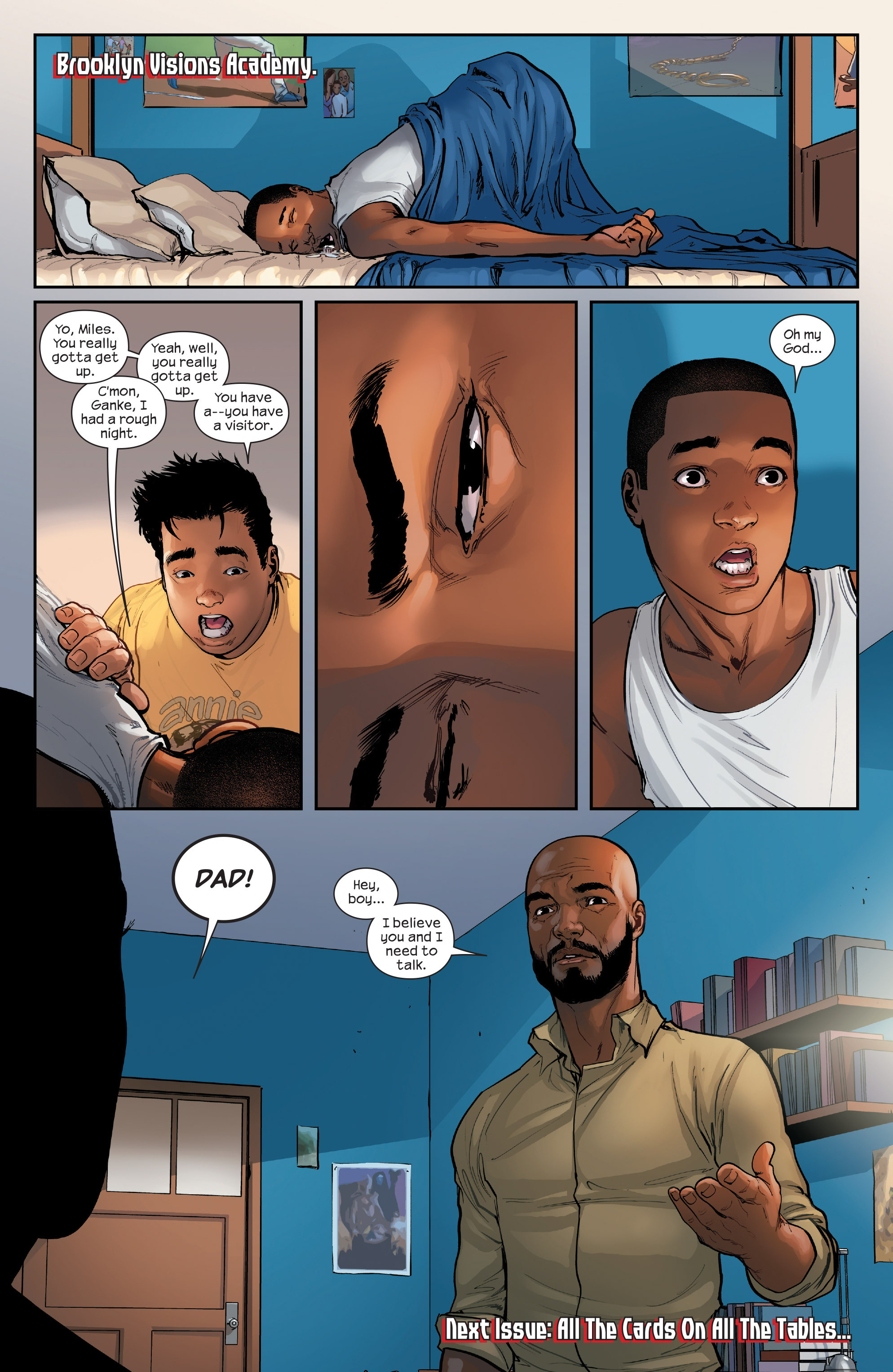 Miles morales dating