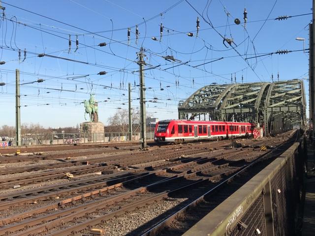 95 80 0620 531-3 D-DB Köln Hohenzollernbrücke
