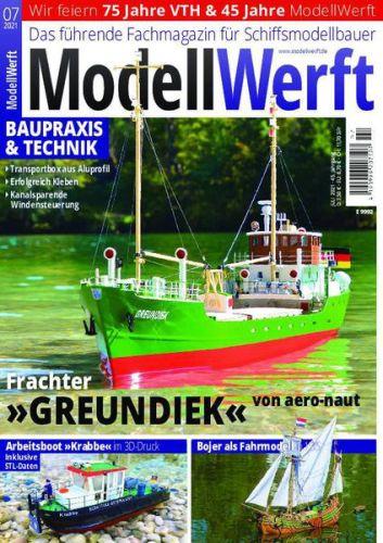 Cover: ModellWerft Magazin No 07 2021