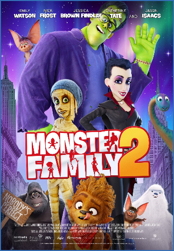 Monster Family 2 2021 1080p WEBRip DD5 1 X 264-EVO