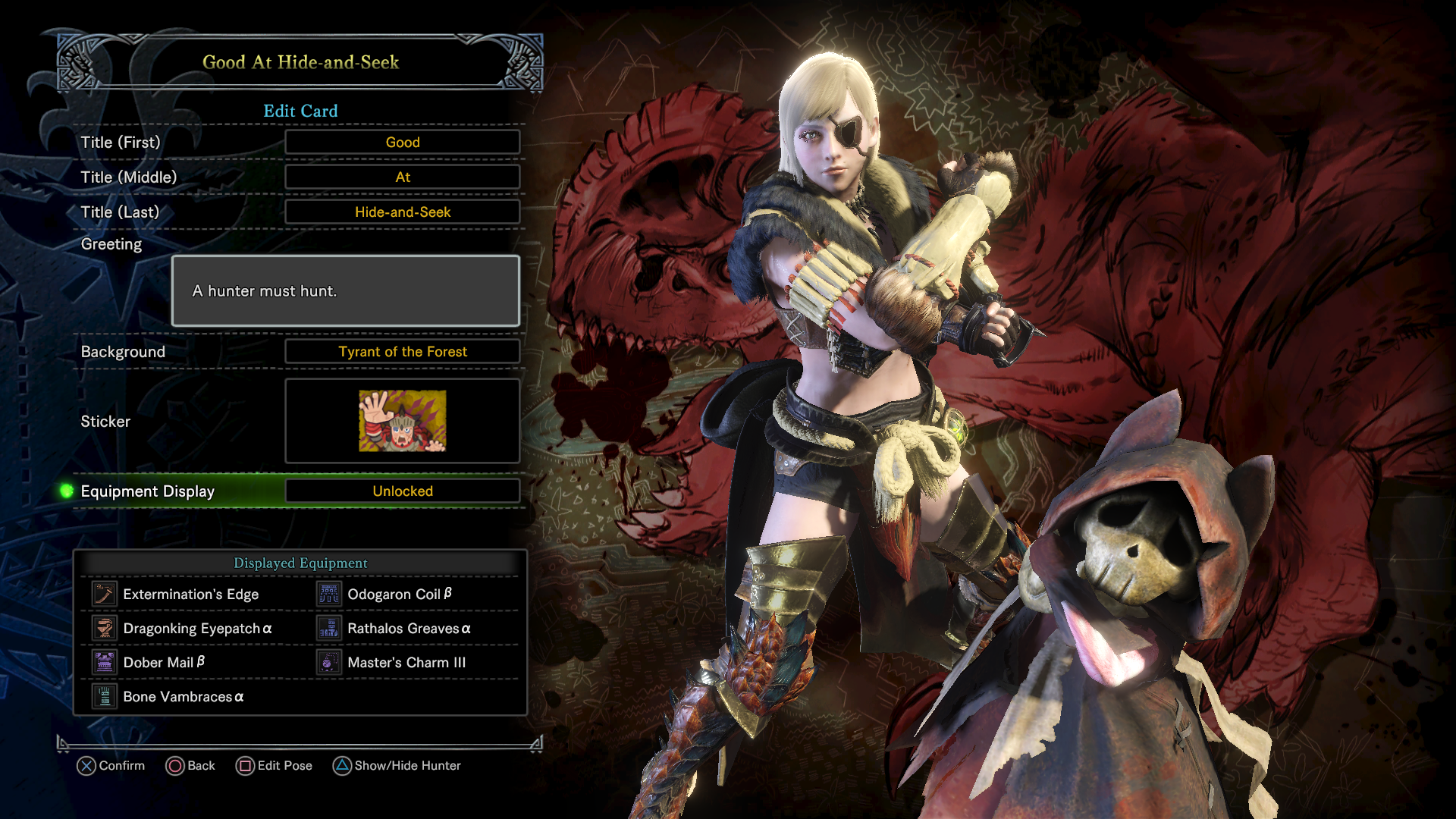 Monster Hunter World Ciri Armor