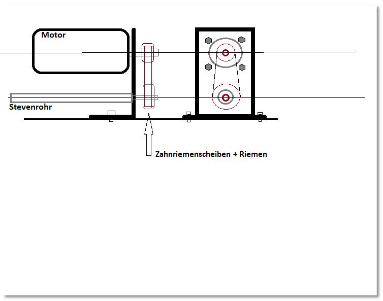 """Hafenschlepper """"Hamburg II"""" - Totalrenovierung/Umbau eines robbe-Veteranen - Seite 3 Montagemotor-scheiben5mu5l"""