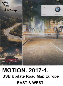2017 1 Motion Bmw Navigation Update Usb Road Map Europe Motion