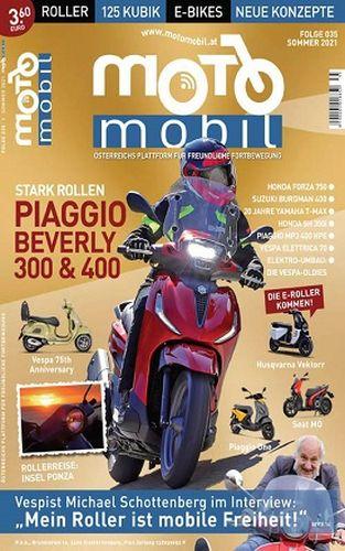 Cover: Motomobil Magazin No 35 2021