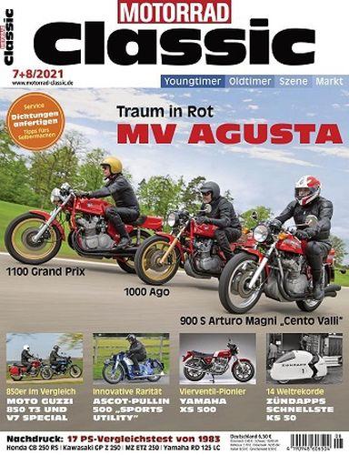 Cover: Motorrad Classic Magazin No 07-08 2021