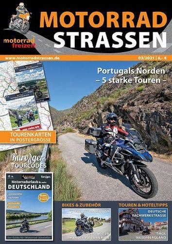 Cover: Motorrad Freizeit Magazin No 03 2021