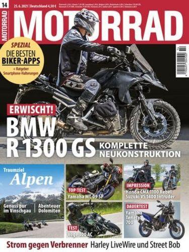 Cover: Motorrad Magazin No 14 vom 25  Juni 2021