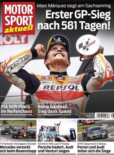 Cover: Motorsport aktuell Magazin No 28 vom 23  Juni 2021