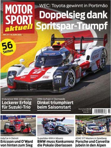 Cover: Motorsport aktuell No 27 vom 16  Juni 2021