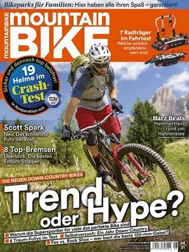 Cover: Mountainbike Magazin No 08 August 2021