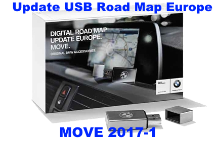 2017 1 Bmw Navigation Update Usb Road Map Europe Move 2017 1