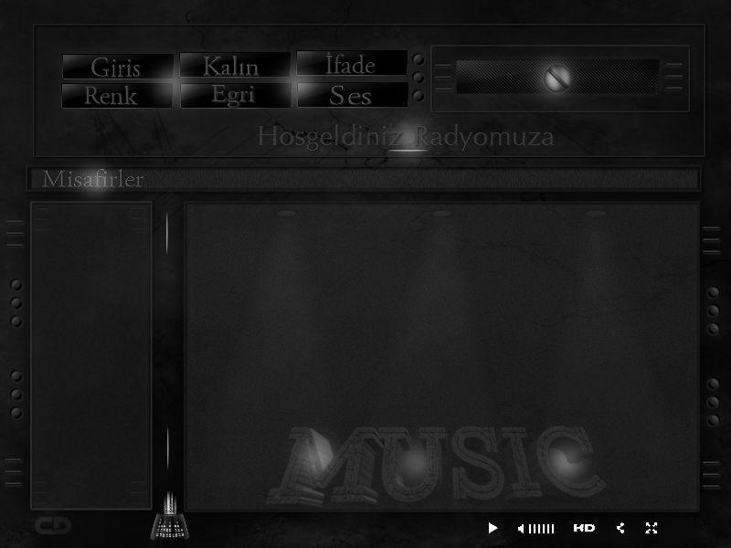 Flatcast Fcp Tema -Music- Dünya Dizayn
