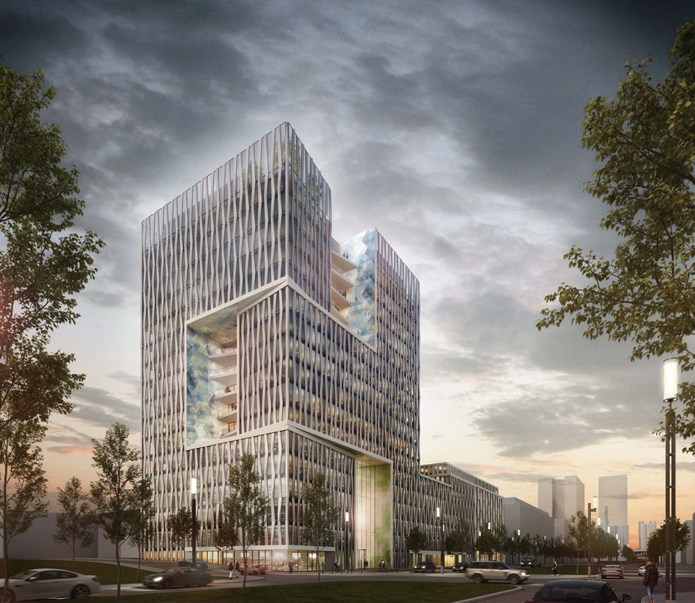 Msm Architekten frankfurt europaviertel u c page 4 skyscrapercity