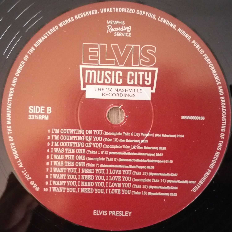 MUSIC CITY (The '56 Nashville Recordings) Musiccity7xdkai