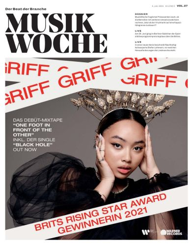 Cover: Musikwoche Fachmagazin No 27 vom 05  Juli 2021