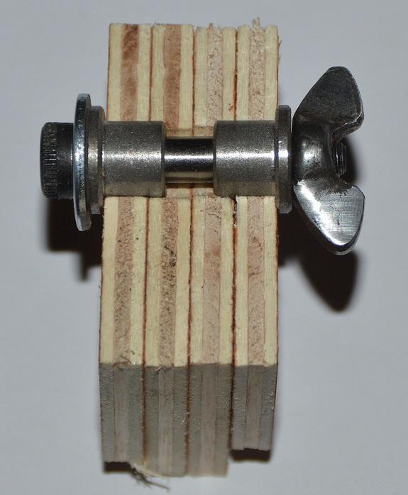Modulverschraubung mit Zentrierung Stahl, geschliffen, 20 bis 28 mm