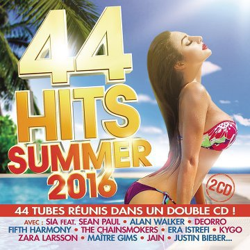 44 Hits Summer 2016 (2016) .mp3 - 320kbps