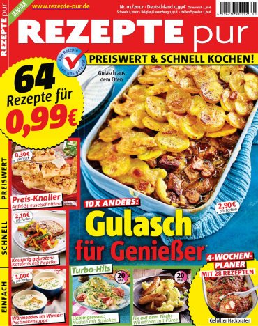 : Rezepte Pur Magazin Januar No 01 2017