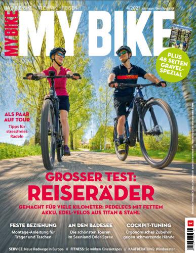 Cover: My Bike Mein Fahrradmagazin No 04 2021