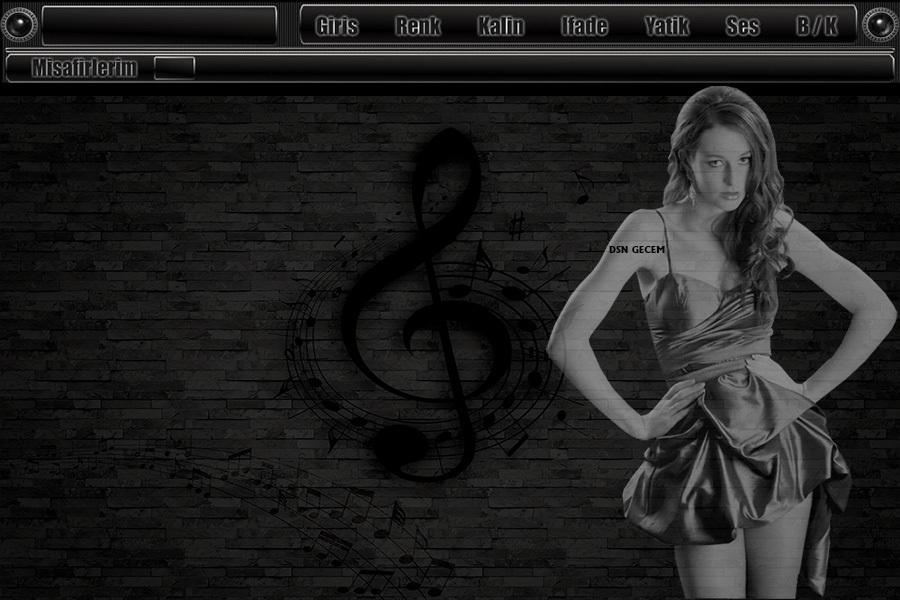 Müzik bayan tema